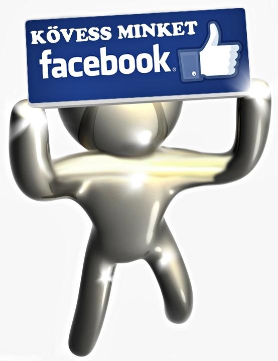 Kövess minket a Facebookon is