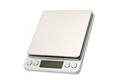 Digitális, hordozható mérleg. 0,1 gramm-tól 3 kg-ig. Vízálló digitális