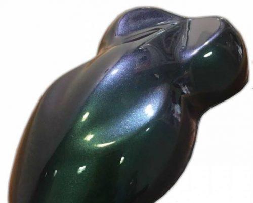 Zöld-türkiz-arany 400 ml készre kevert Kaméleon spray. (100)