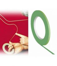 Ragasztószalagok maszkoláshoz (Pinstriping használathoz). Speciális, vékony, oldószerálló. Választható méretek és színek a kosárnál