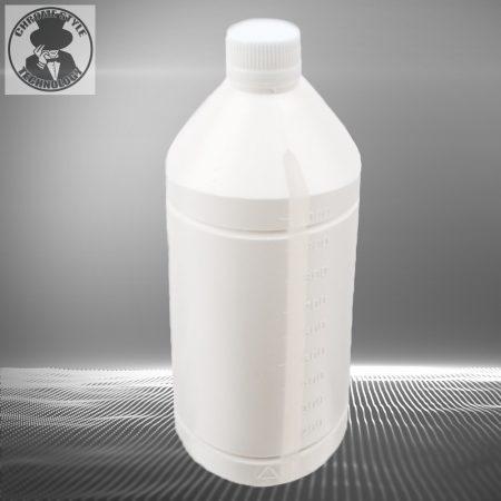 1 Literes műanyag mércés flakon csavaros kupakkal