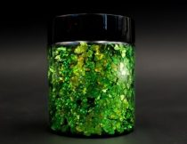 3D pehely, szivárvány zöld, 25 g