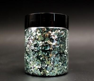 3D pehely, jade gyémánt, 25 g