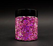 3D pehely, Aurora Neon Pink, 25 g