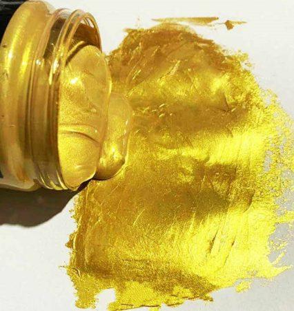 Arany hatású festék. Választható kiszerelésekben