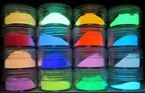 Foszforeszkáló festék pigment 15 gr