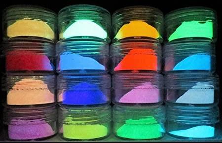 Foszforeszkáló festék pigment 15 g