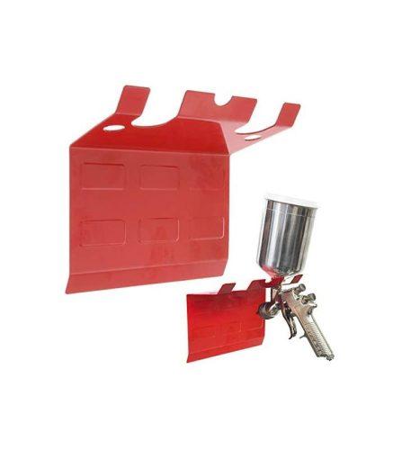 Festékszóró pisztoly tartó. 2 állásos. Mágneses