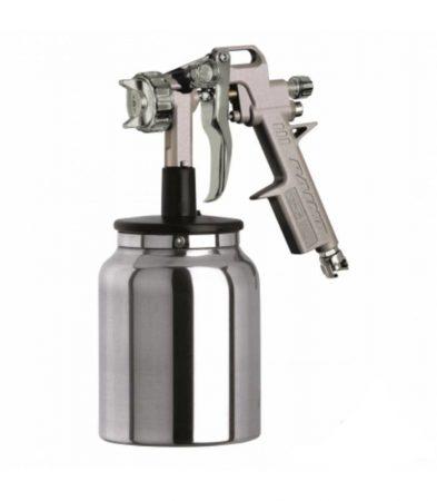 1,8 mm-es szívó szóró pisztoly. 1 literes tartállyal