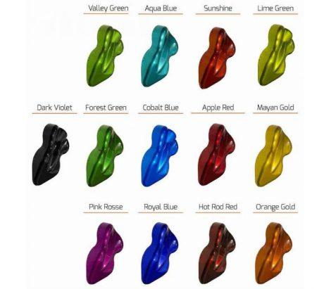 CANDY lakk spray 400 ml (készre kevert candy színezett lakk) 2K. Választható színekkel
