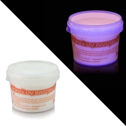 UV fény hatására fluoreszkáló festék LÁTHATATLAN