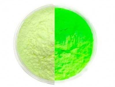 Foszforeszkáló pigment porok. Választható színekben a kép alapján 100 gramm.