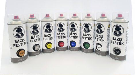 Bázis festék alap színek (400 ml spray)