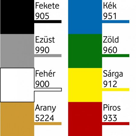 Bázis festék alap színek 250 ml