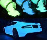 Autóipari foszforeszkáló festékek