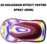 3D hologramm effekt hatású festék spray