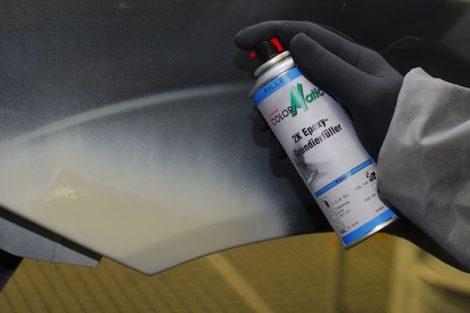 Filler spray, 400 ml, egyszerű használat!
