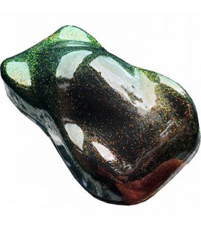 Kaméleon pigment por, 25 g, NARANCS-ZÖLD