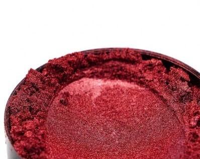 Finom micro pigment, Bordó, 25 g