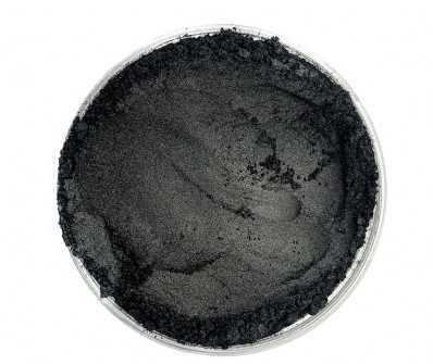 Finom micro pigment, Fekete, 25 g