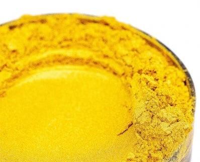 Finom micro pigment, Luxus arany, 25 g