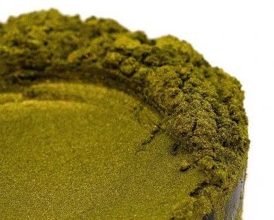 Finom micro pigment, Oliva zöld, 25 g