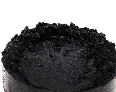 Finom micro pigment, Kaviár fekete, 25 g