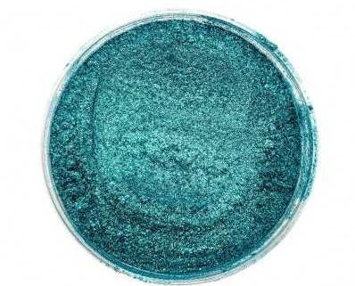 Finom micro pigment, Karibi zöld, 25 g