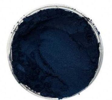 Finom micro pigment, Extra sötét kék, 25 g