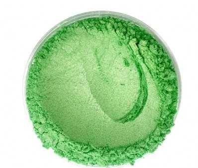 Finom micro pigment, Solid zöld, 25 g