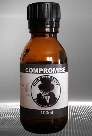 Termék teszt. 100 ml COMPROMISE. 90%-os króm hatású termék. Nem festék! Oldószeres!