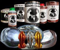 """Compromise """"Start Pack"""" szett. Króm hatású termék csomag az alaptól a befejezésig. Szettben olcsóbb!"""
