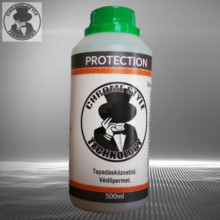 Protection. Védőpermet a 90% króm hatású termékhez. 0,5 liter (kb; 15-20nm-es felületre elegendő)