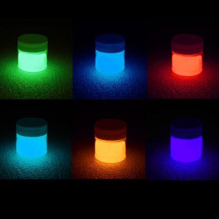 Sötétben világító és UV reagens festék