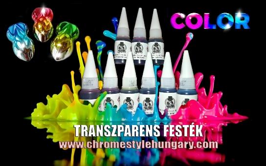 Króm színező festékek