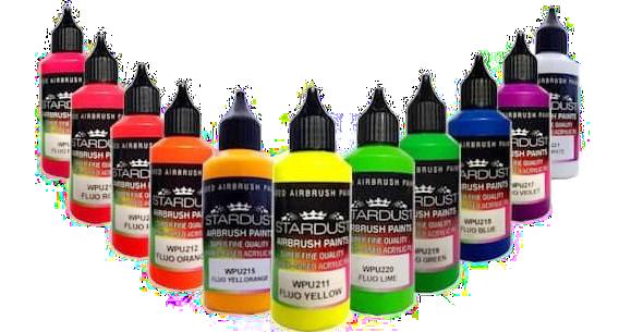 fluoreszkáló festékek airbrushoz