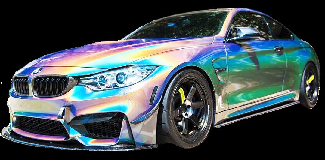 Ultrafinom holografikus festékek